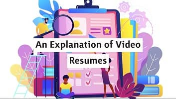explanation of video resumes